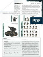 Imperial Guard Datasheet - Death Strike Vortex Missile