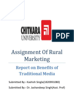 Assignment Of Rural Marketing.docx