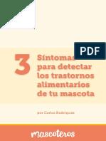 3 Sintomas para detectar los trastornos alimentarios de tu mascota