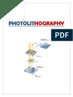 Chem Project on photolithoghraphy