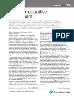 Helpsheet DementiaQandA14 VascularCognitiveImpairment English