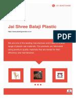Plastic Granuals Products