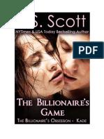 El juego del multimillonario-Kade