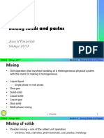 6.1 Mixing Solid and Pastes-1-1