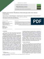 Phytochemistry Letters Volume 3 Issue 2 2010 [Doi 10.1016_j.phytol.2010.02.002] Takashi Ohtsuki; Takashi Miyagawa; Takashi Koyano; Thaworn Kowit -- Isolation and Structure Elucidation of Flavonoid g