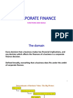 Goals and Functions of Finance