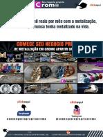 Como Começar a Metalizar Em Seu Negócio Próprio Cromo. E-Book (1)