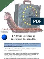 A Integracao No Espaco Europeu