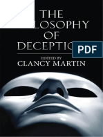 Clancy Martin - The Philosophy of Deception-Oxford University Press (2009)