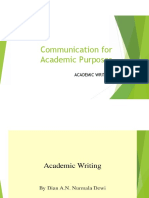 Academic Writing and Essay Writing