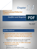 Ch 14 Conflict and Negotiation