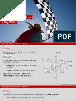 12ano F 1 1 1 Posicao Equacoes Parametricas Do Movimento e Trajetoria