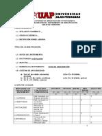 Formato de Ficha de Observación Juez Experto