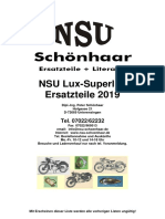 Katalog NSU Lux-Superlux