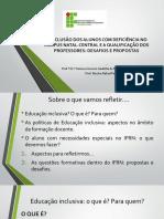 Palestra sobre inclusao e formacao docente.pdf