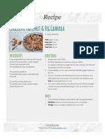 Chocolate Fig Granola