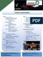 NDT (RT) TTSchedule Page 80 Hrs