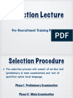 Induction Lecture Junior