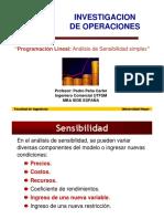 Programación Lineal - 6.- Análisis de Sensibilidad Simplex