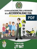 """Cartilla """"24 Horas – 0 Accidentes, yo amo la vida ¿y tú"""".pdf"""