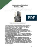 Cosme Argerich y El Inicio de La