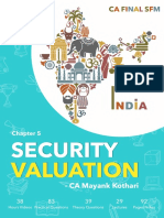 5. Security Valuation , SFM Notes by CA Mayank Kothari