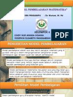 PPT Model pembelajaran