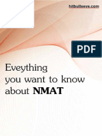 All About NMAT eBook