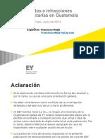 10. Delitos e Infracciones Tributarias -Junio 2014