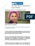 Los secretos del nuevo expediente contra Piedad Córdoba