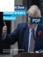 Conservative 2019 manifesto