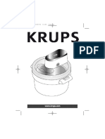 Sorbetière Krups