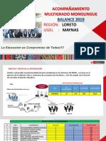 Ppt Para Balance de Acompañamiento Multigrado 2019