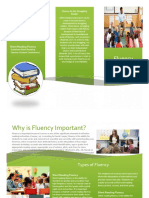 brochure for fluency