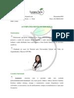 Consulta Nutricionista - Luciana Faria
