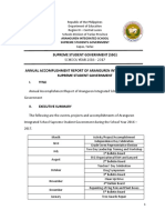 AIS Consolidated Accomplishment Report 2017