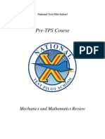 NTPS Mechanics and Mathematics Review