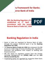 L-3 Regulatory Framework for Banks- RBI