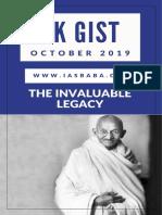Yojana Kurukshetra Gist October 2019 Iasbaba