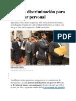 Crece la discriminación para contratar personal.docx