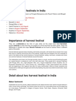 Harvest Festival of India