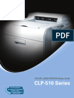 Samsung CLP-510 Manual