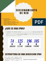 DIRECCIONAMIENTO DE RED
