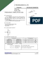 DATASHEET Transistor 13003AD