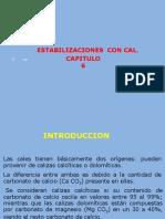 Cap 5 Estabilizacion Con Cal Present