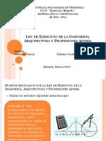 Ley Del Ejercicio