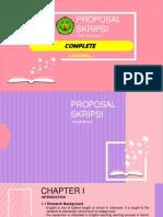 PPT Proposal Skripsi Bahasa Inggris