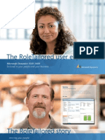 The RoleTailored User Experience in Microsoft Dynamics NAV 2009