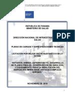 Pliego de Cargos Edif 265-2019b Corregido Por Dis 6 Nov 2019