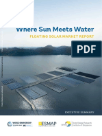 Floating Solar Market Report Executive Summary